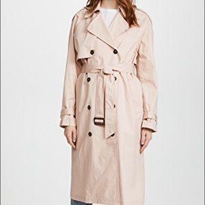 ASTR Wesley Blush Pink Trench Coat
